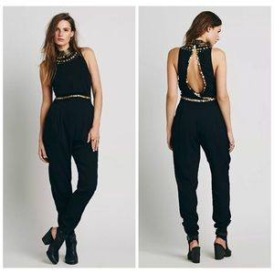 Free People Dresses - [Free People] COIN EMBELLISHED JUMPSUIT